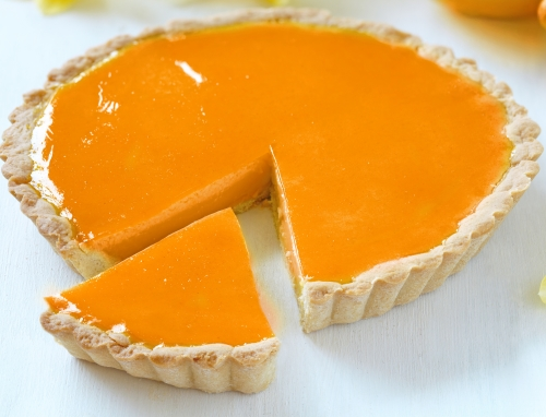 Orange Gelatin Pie